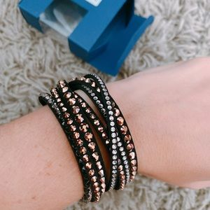 Swarovski Slake DLX: Bracelet Cry Rogl/sis M